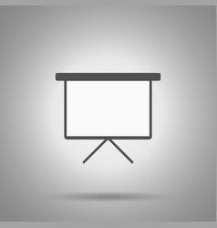 write board icon vector image vector image