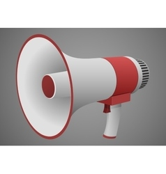 Realistic Megaphone isolated vector image vector image