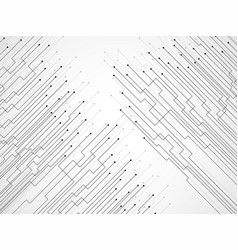 abstract background of lines and dots vector image