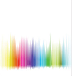 Abstract colorful spectrum rainbow background vector
