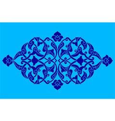 Artistic ottoman pattern series fifty eight vector