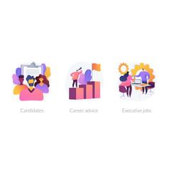 careers concept metaphors vector image
