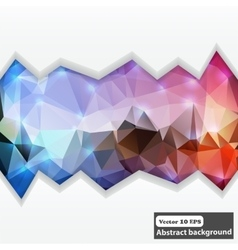 Creative abstract concept abstract colorful vector