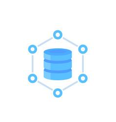 Database data storage vector