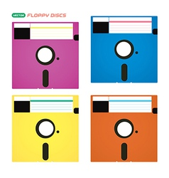 Floppy Disks vector image