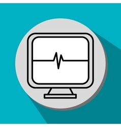 Medical and healthcare icon vector image