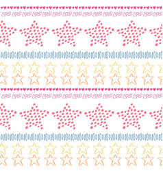 Stars ethnic seamless pattern background fashion vector