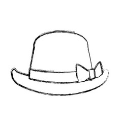classic vintage hat vector image