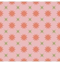 Flower pastel seamless pattern vector image