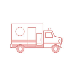 Ambulance health care transport emergency urgent vector