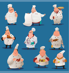 Chef characters vector