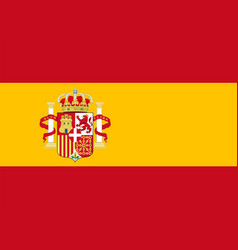 Flag spain vector