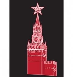 kremlin vector image