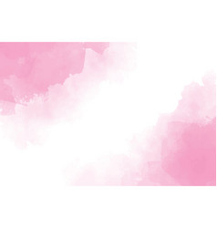 pink watercolor wet splash background eps10 vector image