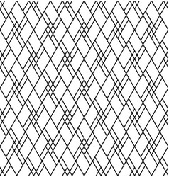 seamless abstract pattern in black and white color vector image