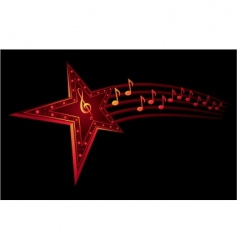 music star vector image vector image