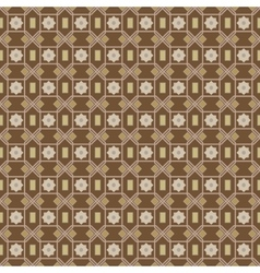 seamless damask pattern on texture background vector image