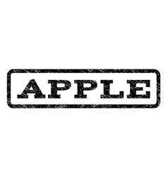 apple watermark stamp vector image vector image