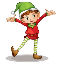 Little elf vector image vector image