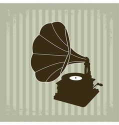 Gramophone 2 vector image vector image