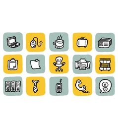 icon office vector image vector image