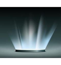 Rays of light Hologram vector image