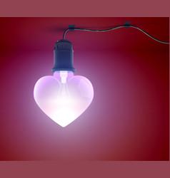 bright romantic template vector image