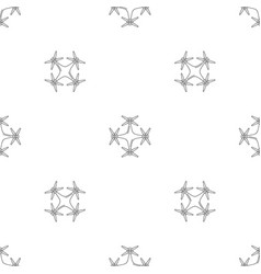 Copter drone pattern seamless vector