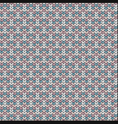 Imitation knitted fabric jacquard for sweaters vector