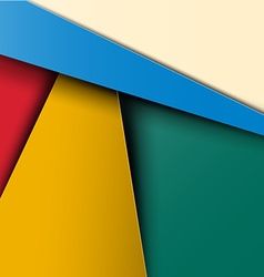 Material Design Pattern - Colorful Abstract Retro vector