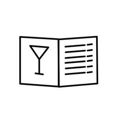 menu icon vector image