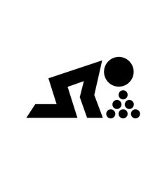 People vomitting or throw up icon symbol vector