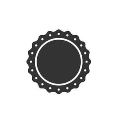 quality emblem icon isolated flat design vector image