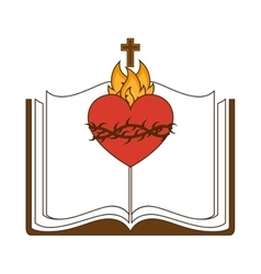 Sacred Heart of Jesus vector