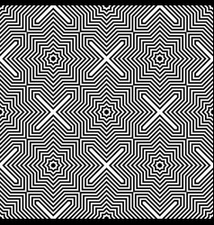seamless geometric checked pattern vector image