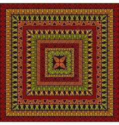 Square Ethnic Pattern vector