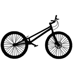Trials mountain bike vector image
