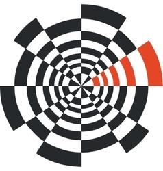 web round 02 vector image