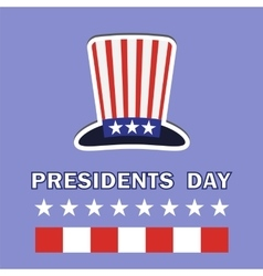 Presidents Day Icon vector image vector image