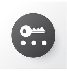 Privacy icon symbol premium quality isolated key vector