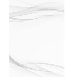 Abstract transparent wave document lines layout vector