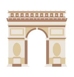 arch triumph vector image