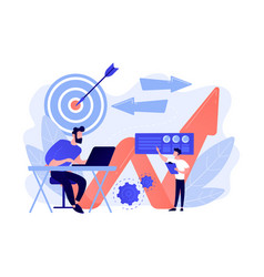 Business direction concept vector