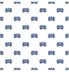 Gasoline railroad tanker pattern vector