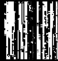 glitch overlay texture vector image
