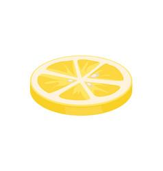 lemon citron citrus closeup vector image