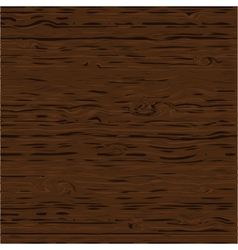 Wood pattern dark texture with brown color vector image