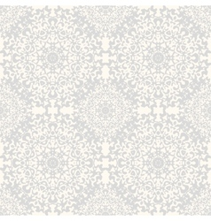 Seamless kaleidoscope lace pattern vector