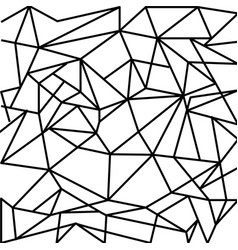 Abstract geometrical shapes in vector