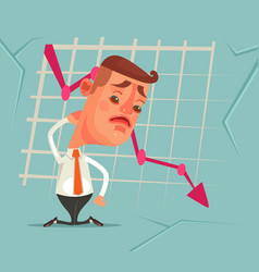 business fail vector image